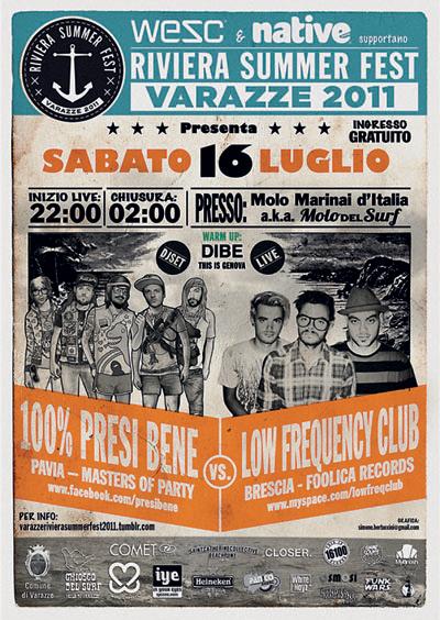 RIVIERA SUMMER FEST 16 LUGLIO 3 - fanzine