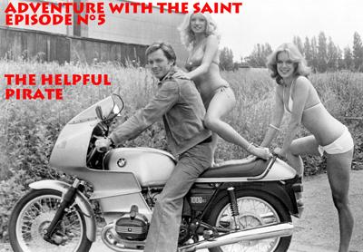 ADVENTURE WITH THE SAINT-EPISODE 5-THE HELPFUL PIRATE 3 - fanzine