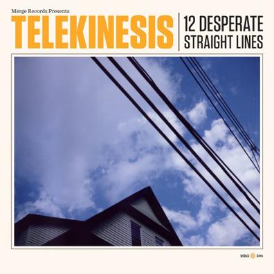 Telekinesis-12 Desperate Straight Lines 2 - fanzine