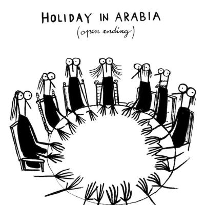 holiday in arabia-open ending