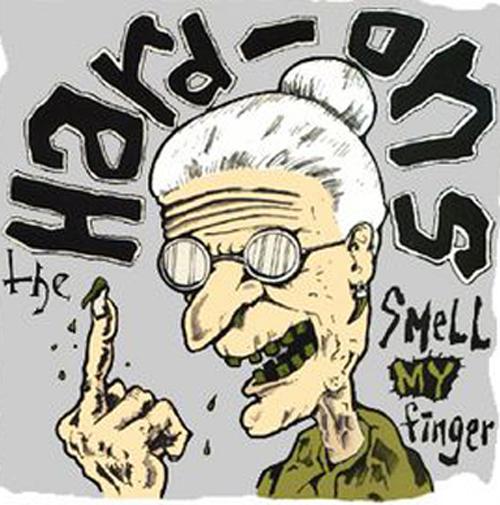 Hard-Ons-Smell My Finger 4 - fanzine