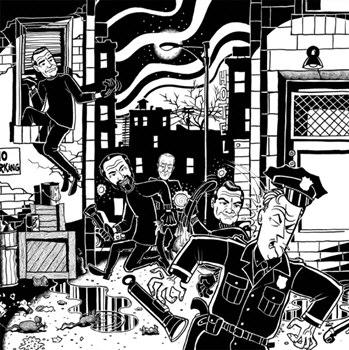 Skurkarna-A crimewave escapade! 4 - fanzine