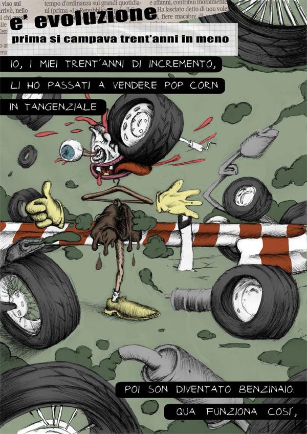 Francesco Orazzini comics