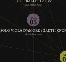 Garth Knox - Solo Viola D'Amore 4 - fanzine