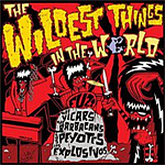 artisti vari - the wildest things in the world split 7inches 4 - fanzine