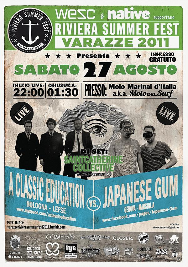 Riviera Summerfest 27 agosto 6 - fanzine