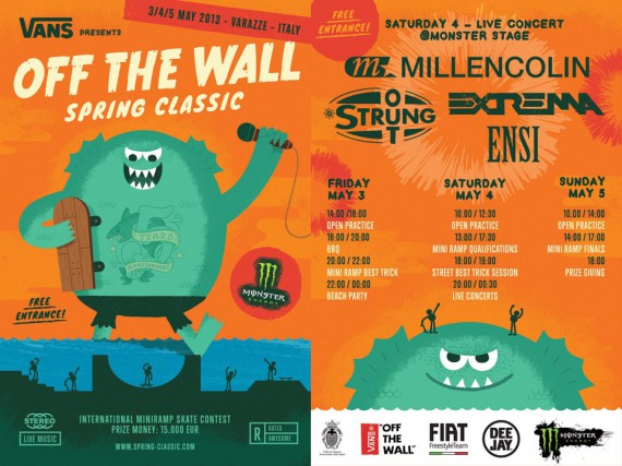 Vans off the wall varazze 2013 7 - fanzine