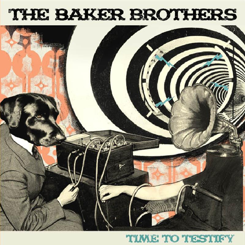 THE BAKER BROTHERS-TIME TO TESTIFY 1 - fanzine