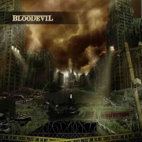 Bloodevil  -  Infection 1 - fanzine