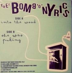 Thee Bomb'o'nyrics - Thee Bomb'o'nyrics 10 - fanzine