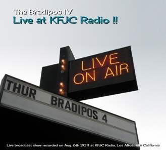 Bradipos IV - Live at KFJC Radio USA 1 - fanzine