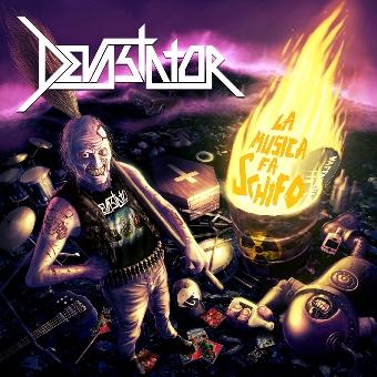 DEVASTATOR-LA MUSICA FA SCHIFO 3 - fanzine