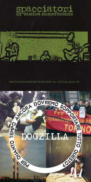Spacciatori di musica stupefacente-Dogzilla 1 - fanzine
