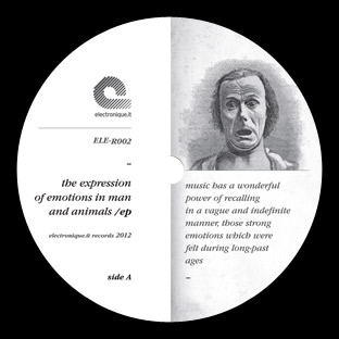 Artisti Vari - The Expression Of Emotions In Man And Animals EP 1 - fanzine