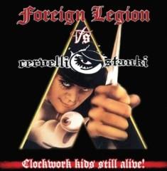 Foreign Legion / Cervelli Stanki – Clockwork Kids Still Alive ! 1 - fanzine