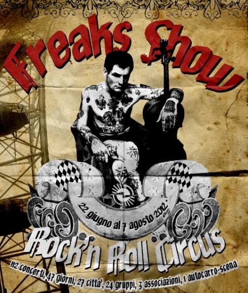 Freak Show Tour 1 - fanzine