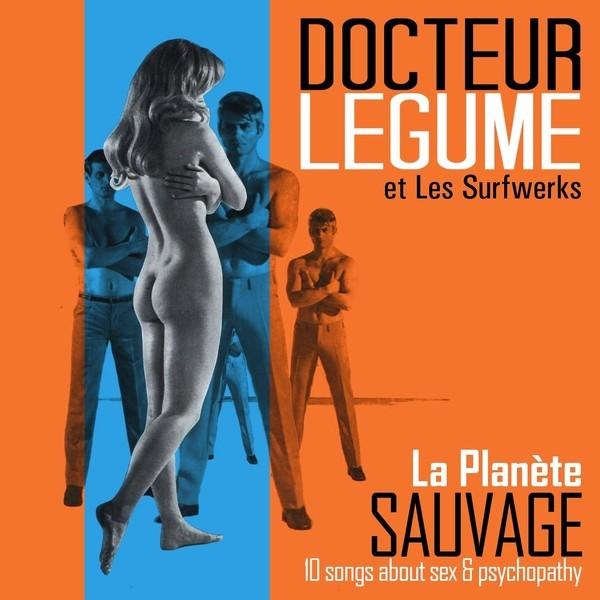 Docteur Legume et les Surfwerks-La planéte suavage 1 - fanzine