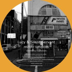 Lucy And Silent Servant - History Survivors EP 1 - fanzine
