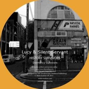 Lucy And Silent Servant - History Survivors EP 10 - fanzine