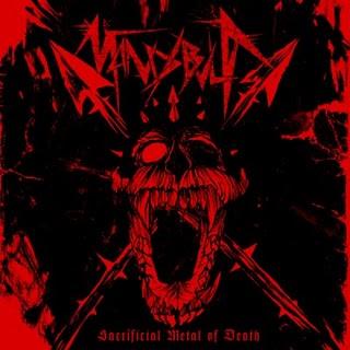 Mandibula - Sacrificial Metal Of Death 1 - fanzine