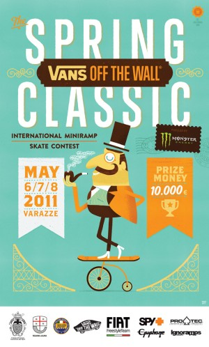 VANS-OFF THE WALL SPRING CLASSIC 1 - fanzine