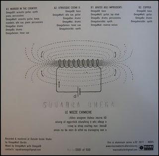 SQUADRA OMEGA-LE NOZZE CHIMICHE 5 - fanzine