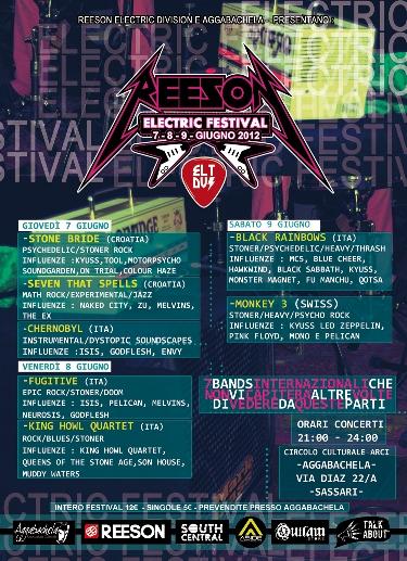 Reeson Electric Festival 1 - fanzine