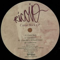 RICCIO-Come Back EP 1 - fanzine