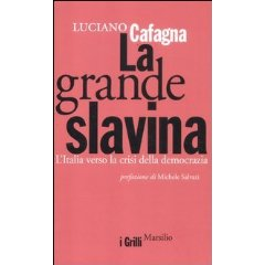 Luciano Cafagna La grande slavina 1 - fanzine