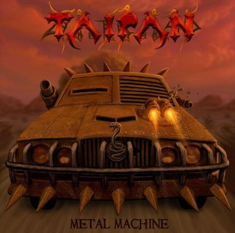 Taipan - Metal Machine 5 - fanzine