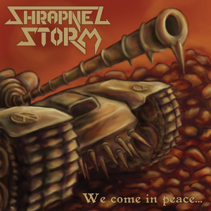 Shrapnel Storm - We Come In Peace 7 - fanzine