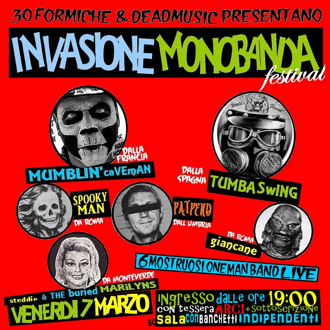 Festival di Invasione Monobanda - 7 Marzo 2014 5 - fanzine