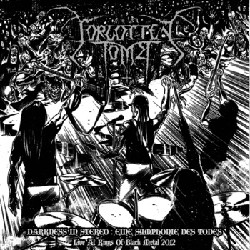 Forgotten Tomb - Darkness in Stereo: Eine Symphonie des Todes - Live in Germany 1 - fanzine