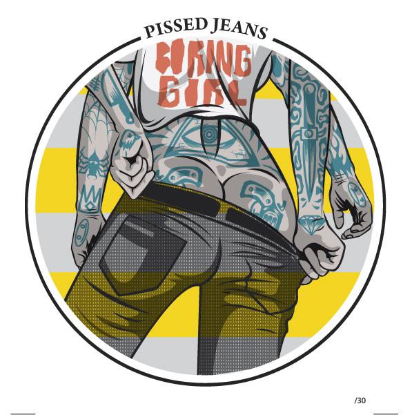 Cover : Pissed Jeans 1 - fanzine