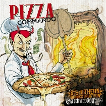 Southern Drinkstruction / Carcharodon - Pizza Commando 1 - fanzine