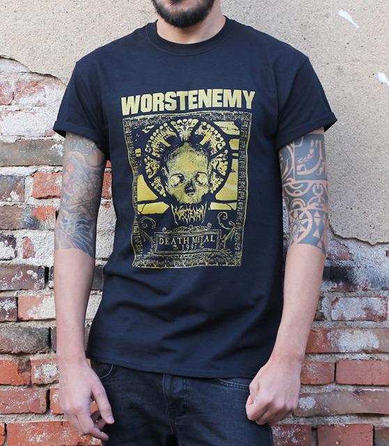 Concorso per vincere la t-shirt dei Worstenemy 1 - fanzine