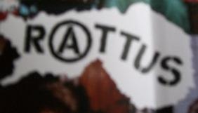 La mia versione preferita del logo dei Rattus, dal booklet dell'EP Rattus on  Rauta.