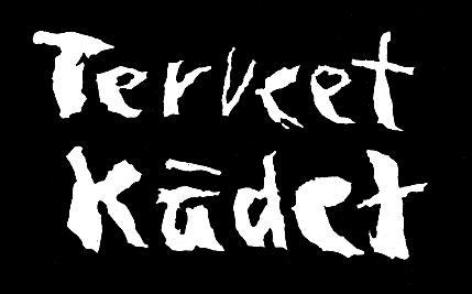 """Il logo classico della band, fotografato dal booklet del cd Kumia ja Verta (""""Gomma e Sangue""""), che raccoglie il materiale pubblicato nel 1987. Una versione alternativa, anch'essa adoperata abbastanza spesso, del logo dei Terveet Kädet."""