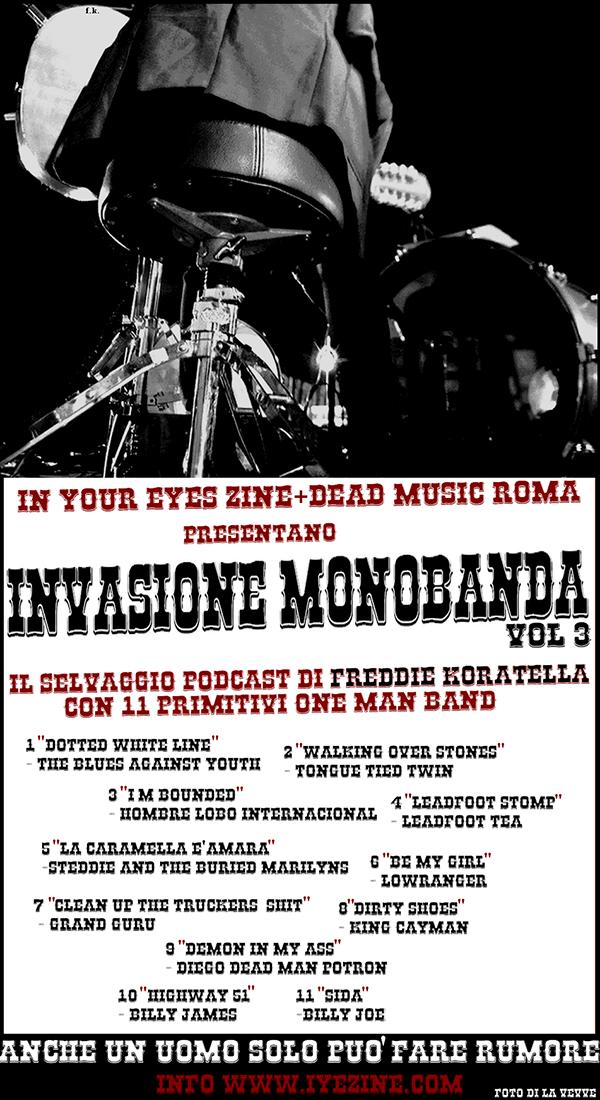 INVASIONE MONOBANDA vol 3 1 - fanzine