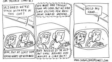 comics car trouble