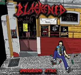 Blackened - Underground Attack 2 - fanzine