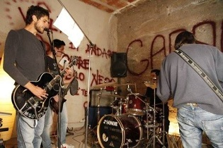 """Serradarce invasa dal rumore – Il """"Garage"""" - Intervista a Nick Veleno 1 - fanzine"""