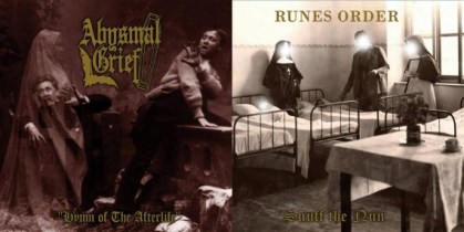 Abysmal Grief / Runes Order - Hymn of the Afterlife / Snuff the Nun 11 - fanzine
