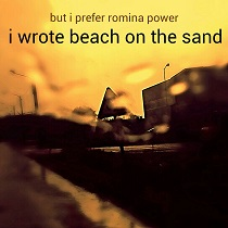 But I Prefer Romina Power - I Wrote Beach On The Sand 1 - fanzine