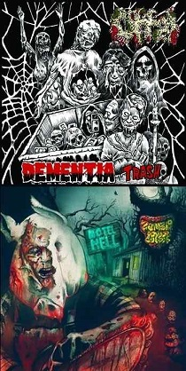 Offal / Zombie Cookbook - Dementia Trash / Motel Hell 4 - fanzine