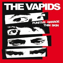 The Vapids - Punitive Damage / Thin Skin 10 - fanzine