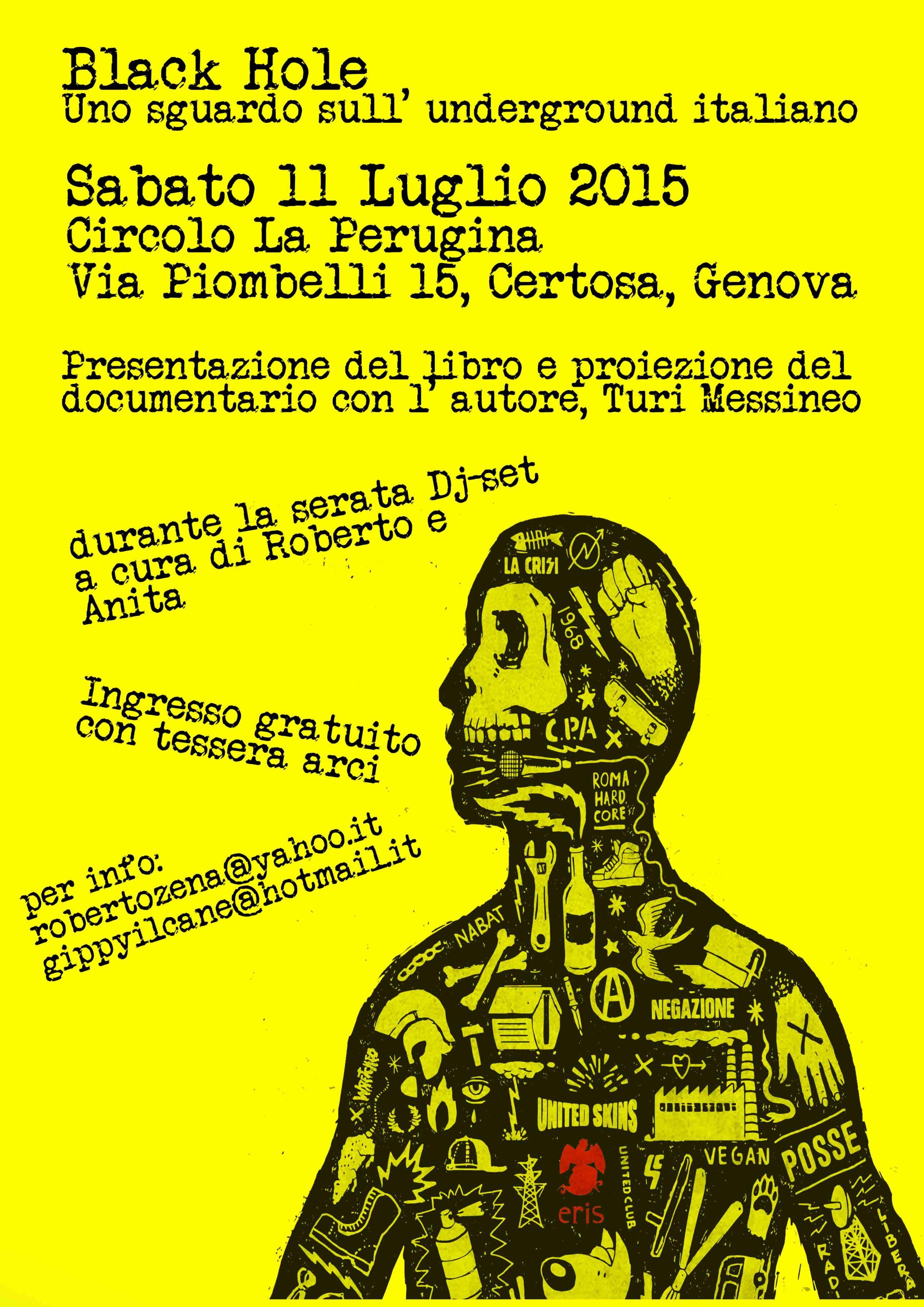 Black Hole: Uno Sguardo Sull'Underground Italiano 1 - fanzine