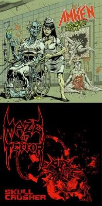 Amken / Maze Of Terror - Adrenaline Shot / Skull Crusher 1 - fanzine