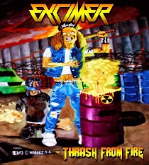 Excimer - Thrash From Fire 3 - fanzine