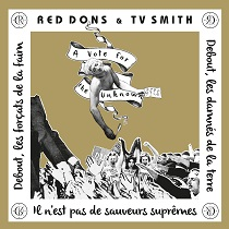 Red Dons + Tv Smith – Vote for The Unknown 6 - fanzine